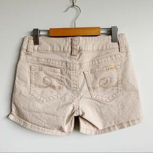 7 For All Mankind Khaki Jean Short Size 4